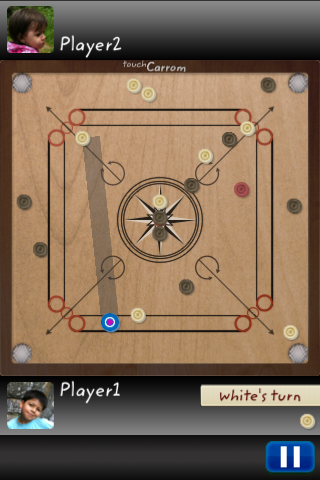Screenshot Touch Carrom 2: Multiplayer Edition
