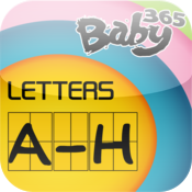 baby365-中英文闪卡-字母A-H